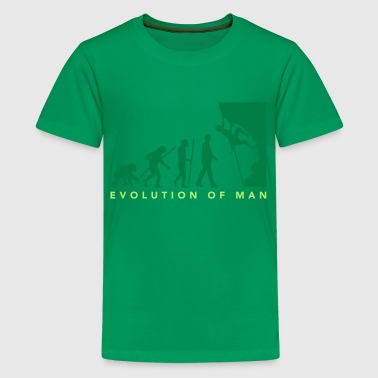 evolution_freeclimber_012015_b_2c - Kids' Premium T-Shirt