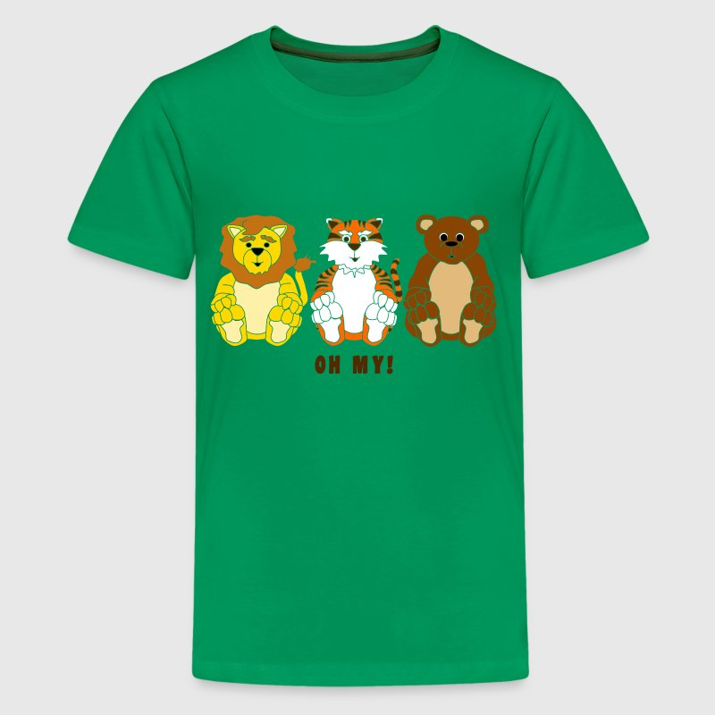 Lions and Tigers and Bears... - Kids' Premium T-Shirt