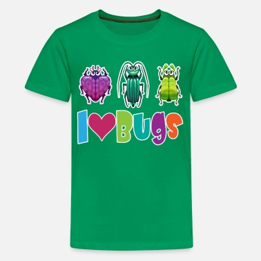 Bug I Love Bugs - Kids' Premium T-Shirt