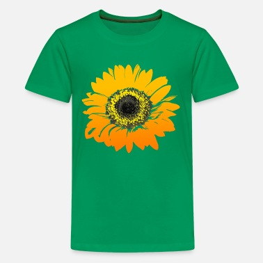 Best Selling Bright Sunflower - Kids' Premium T-Shirt