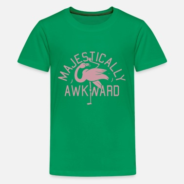MAJESTICALLY AWKWARD - Kids' Premium T-Shirt