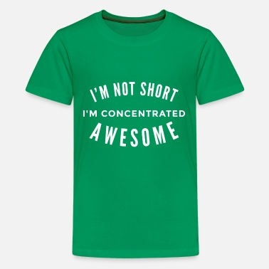 Concentric Concentrated Awesome - Kids' Premium T-Shirt