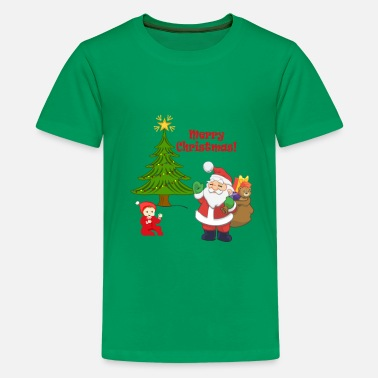 Baby's Christmas T shirt by LindezaDesign - Kids' Premium T-Shirt