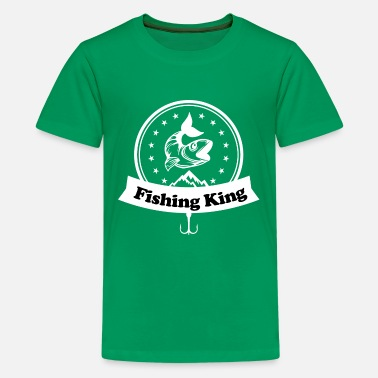 Fishing, Fishing, Petri Heil, Hobby, Fish, Fishing - Kids' Premium T-Shirt