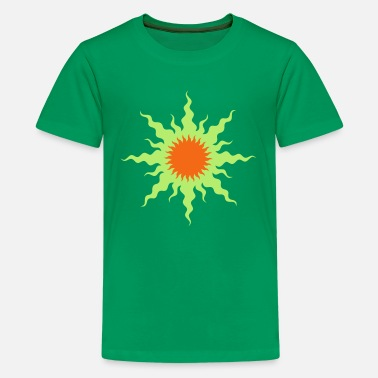 Celtic wavy_sun_2 - Kids' Premium T-Shirt