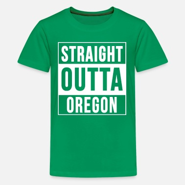 Straight Outta OREGON - Kids' Premium T-Shirt