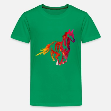 Mare Stallion - Premium Design - Kids' Premium T-Shirt