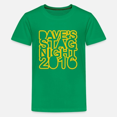 Stag Night Stag Do Stag Night - Kids' Premium T-Shirt