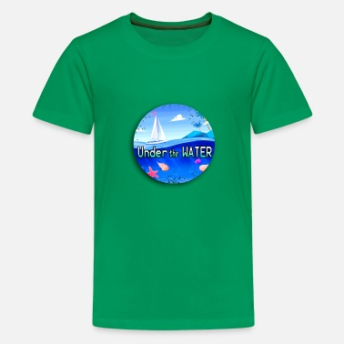 Under Water Under the water - Kids' Premium T-Shirt