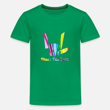 share the love rainbow - Kids' Premium T-Shirt