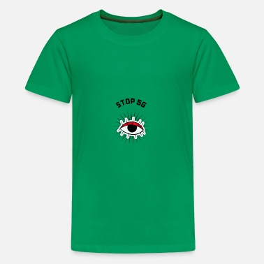 Mobile STOP 5G - Kids' Premium T-Shirt