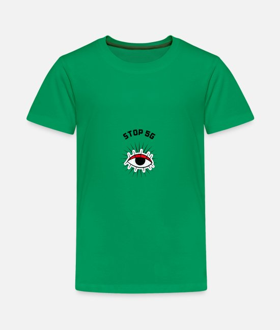 Save The Bees T-Shirts - STOP 5G - Kids' Premium T-Shirt kelly green
