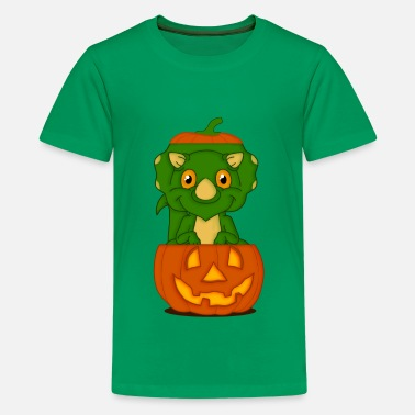 Summer Children Dino for Helloween - Kids' Premium T-Shirt