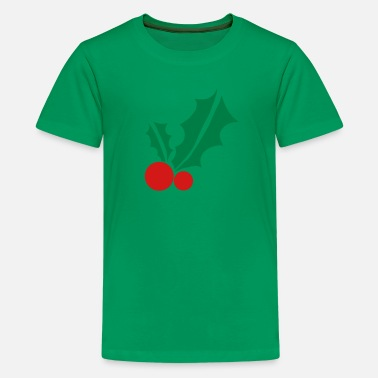 Holly christmas holly - Kids' Premium T-Shirt