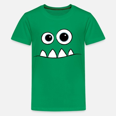 92d82117 Cute Monster Monster Face - Kids' Premium T-Shirt