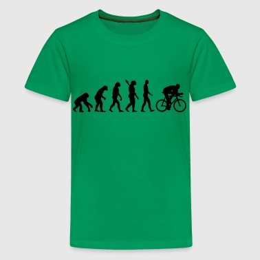 Evolution cycling - Kids' Premium T-Shirt