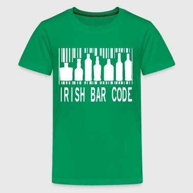 Irish Barcode - Kids' Premium T-Shirt