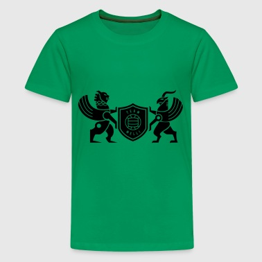 Iran lion & griffin - Kids' Premium T-Shirt