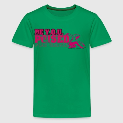 BE YOU POSIED FOR GRACE - Kids' Premium T-Shirt