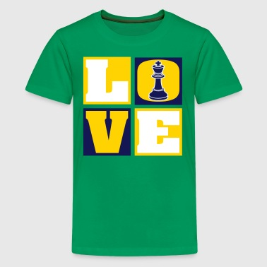Love Chess - Kids' Premium T-Shirt