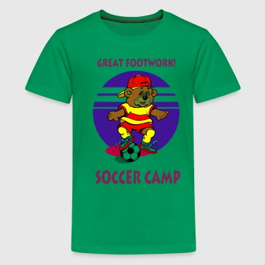 Kids Soccer Camp - Kids' Premium T-Shirt