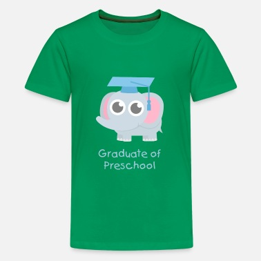 Cute Graduation Cute Elephant Graduate - Kids' Premium T-Shirt