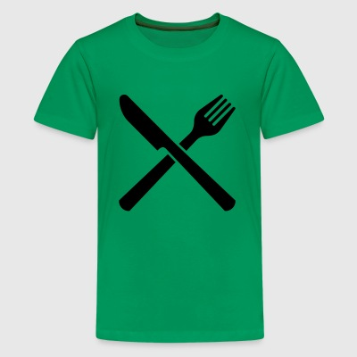 eating - Kids' Premium T-Shirt