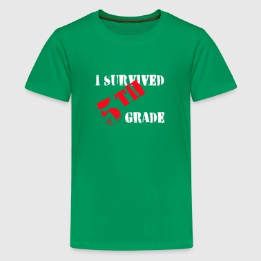 I Survived 5th Grade - Kids' Premium T-Shirt
