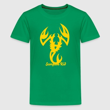 Scorpion Tribal Tattoo 3 - Kids' Premium T-Shirt