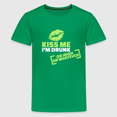 Kiss me I'm Drunk - Kids' Premium T-Shirt