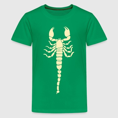 Scorpion Tribal Tattoo 6 - Kids' Premium T-Shirt
