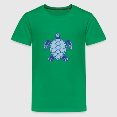 sea turtle animals 602 - Kids' Premium T-Shirt