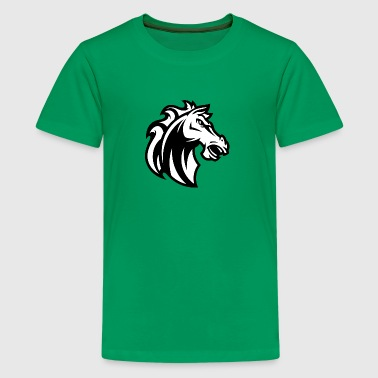 horse_black - Kids' Premium T-Shirt