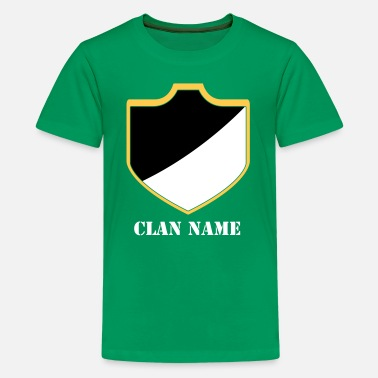 Clan Clash With Your Clans 18 - Kids' Premium T-Shirt