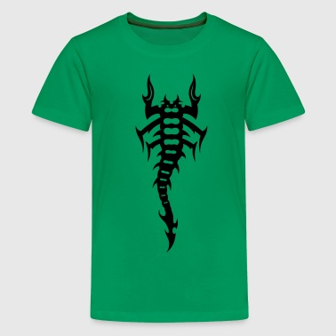 Scorpion Tribal Tattoo 4 - Kids' Premium T-Shirt