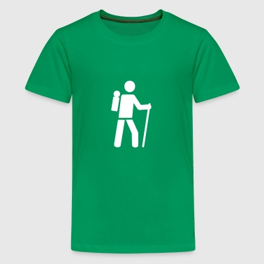 Hiking - Kids' Premium T-Shirt