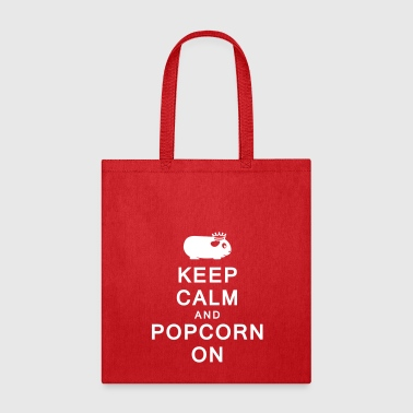 Keep Calm and Popcorn On - Tote Bag