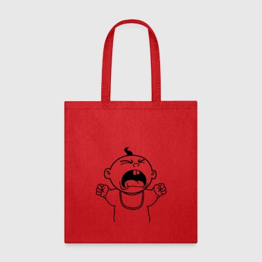 Yelling Baby - Tote Bag