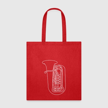 TUBA brass - Tote Bag