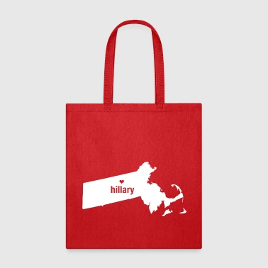 Massachusetts Loves Hillary - Tote Bag - Tote Bag
