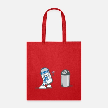 Love robot_crush_spreadshirt - Tote Bag