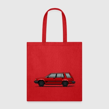 Jesse Pinkman's Crappy Red Toyota Tercel SR5 4WD  - Tote Bag