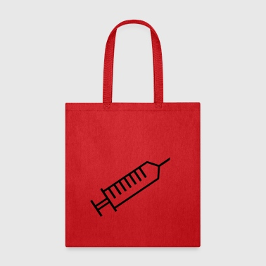 Syringe outline - Tote Bag