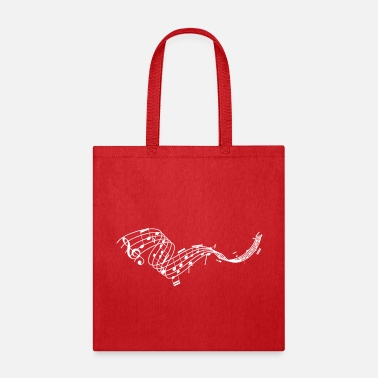 Music is Life Music Sheet - Tote Bag