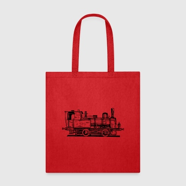 Freight Train Locomotive Lokomotive Train Zug Eisenbahn - Tote Bag