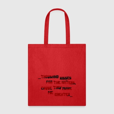haters - Tote Bag