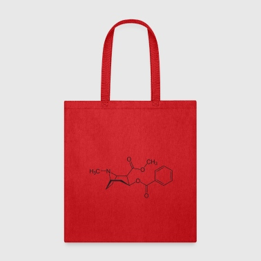 Cocaine Molecule - Tote Bag