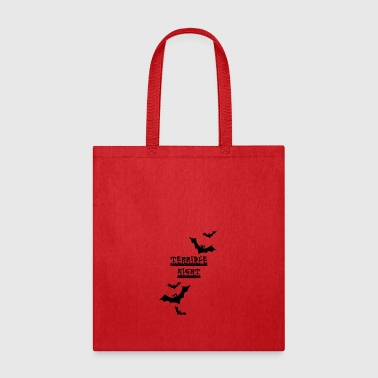 Terrible Terrible Night - Tote Bag