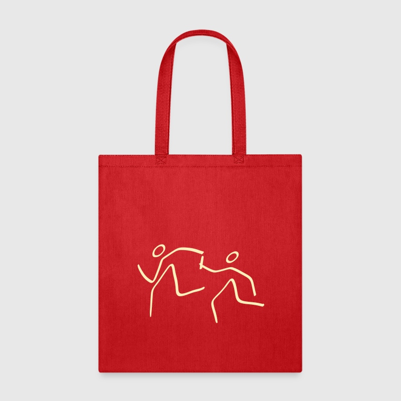 Athletics Relay Pictogram - Tote Bag