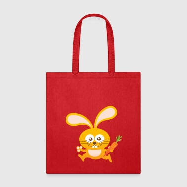 Smiling Little Bunny - Tote Bag